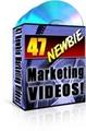 47 Newbie Marketing Videos  MRR