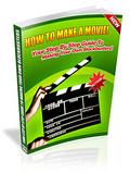 Thumbnail How To Make A Movie  PLR