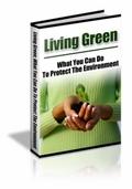 Thumbnail Living Greener  PLR