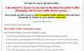 Thumbnail Traffic Series  PLR