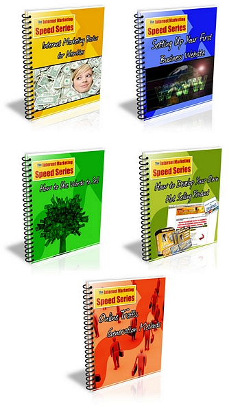 Product picture Internet Marketing Speed Series   Private Label Rights