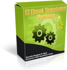 Product picture EZ eBook Template Package V4