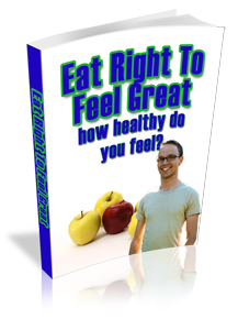 Product picture Eat Right To Feel Great