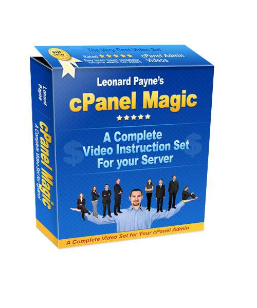 Product picture cPanel Magic  -  Video Tutorial