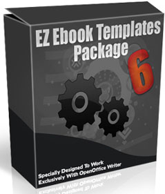 Product picture Ez eBook Templates Package