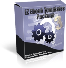 Product picture EZ eBook Template Package V3