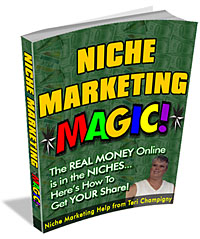 Product picture Niche Marketing Magic   Master Resale Rights
