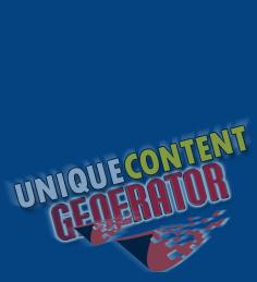 Product picture Unique Content - PLR